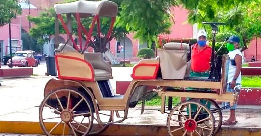 Electric Carriage, Motul, Mexico