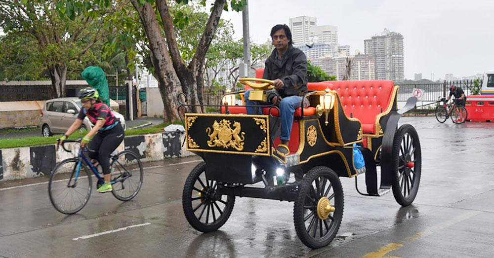 Electric Carriage in Mumbai, India Photo: Vivek Bendre / The Hindu